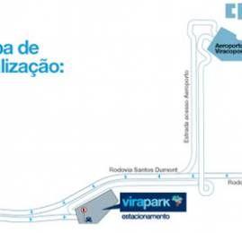 Azul : Virapark Estacionamento