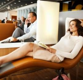 Lufthansa inaugura o maior lounge do mundo em Frankfurt