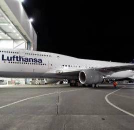 Lufthansa lança o Boeing 747-8 na rota New York-Frankfurt