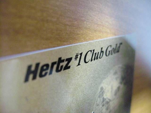 Hertz está dando upgrade gratuito para o Hertz #1 Club Gold