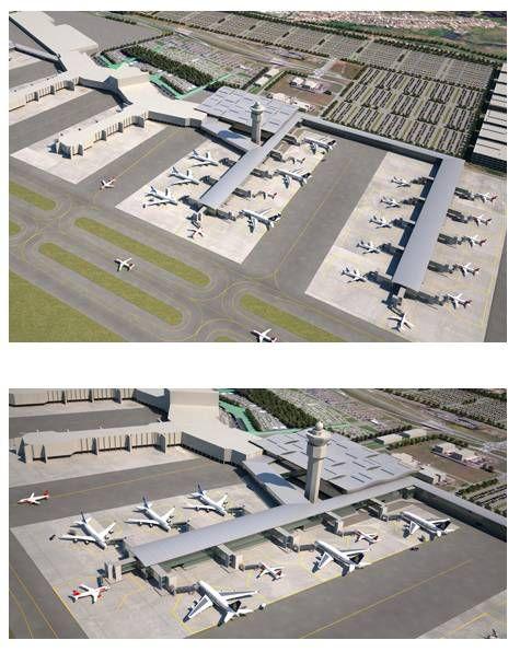 Projeto final do Terminal 3 de Guarulhos