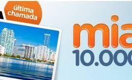 GOL disponibiliza passagens para Miami por apenas 10.000 Milhas