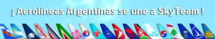 Aerolíneas Argentinas se junta a SkyTeam