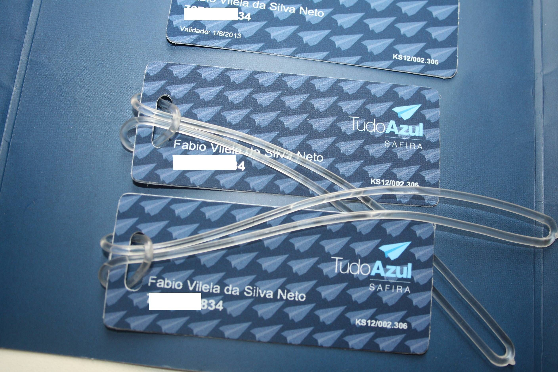 Cartão TudoAzul Safira – Kit de boas vindas
