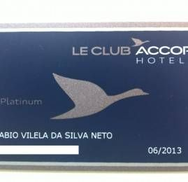 Cartão Le Club Platinum Accor Hotels – Kit de boas vindas