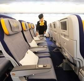 Lufthansa oferece nova Primeira Classe na rota Frankfurt-São Paulo