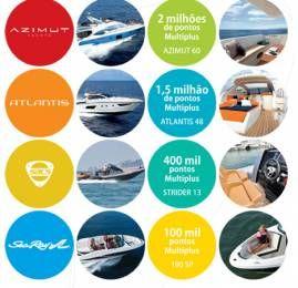 YachtBrasil – Ganhe até 2 milhões de pontos Multiplus comprando um barco