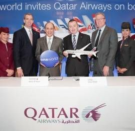 Qatar Airways se junta à oneworld