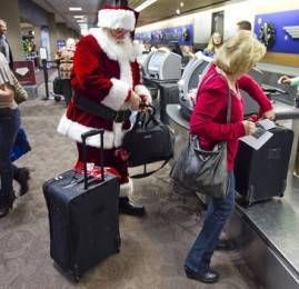 Feliz Natal passageiros