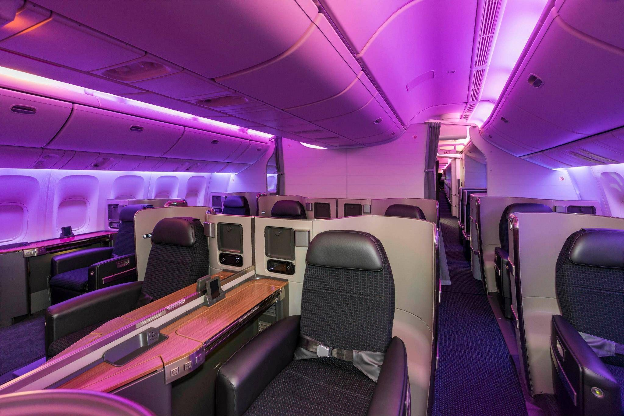 New First Class American Airlines 777
