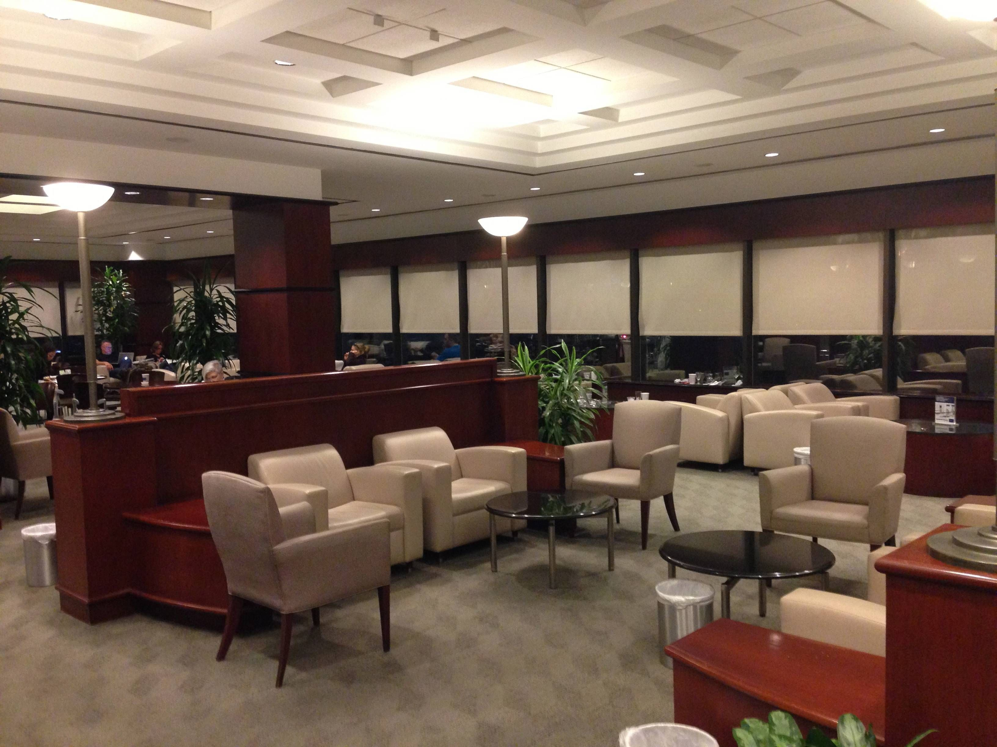 Sala VIP United Club - Aeroporto de Houston (IAH)