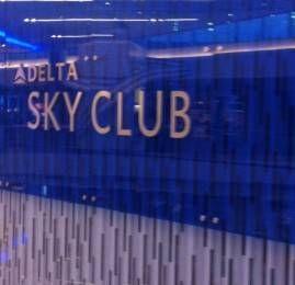 Sala VIP Delta SkyClub – Aeroporto de Atlanta – Terminal F