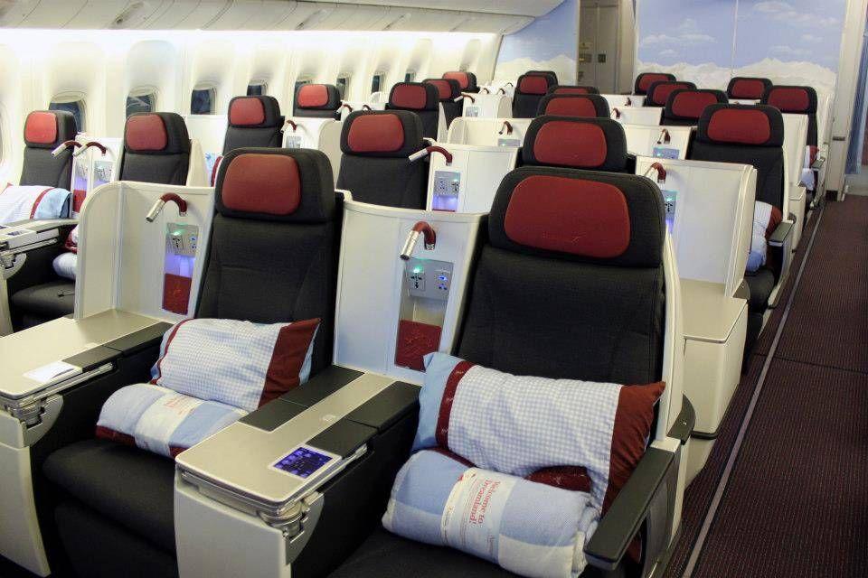 Austrian Classe Executiva - New Business Class