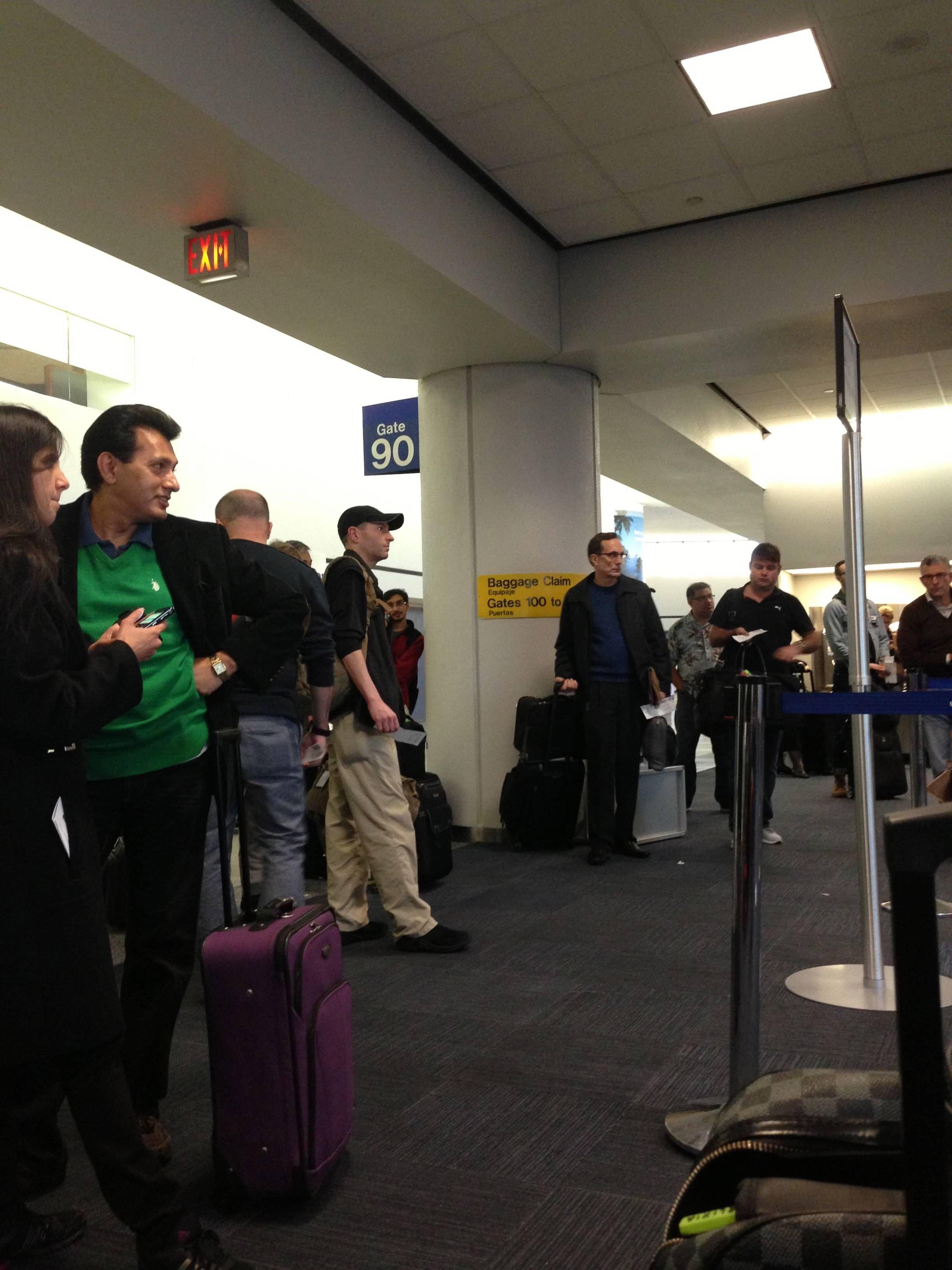 Overbooking United Flight