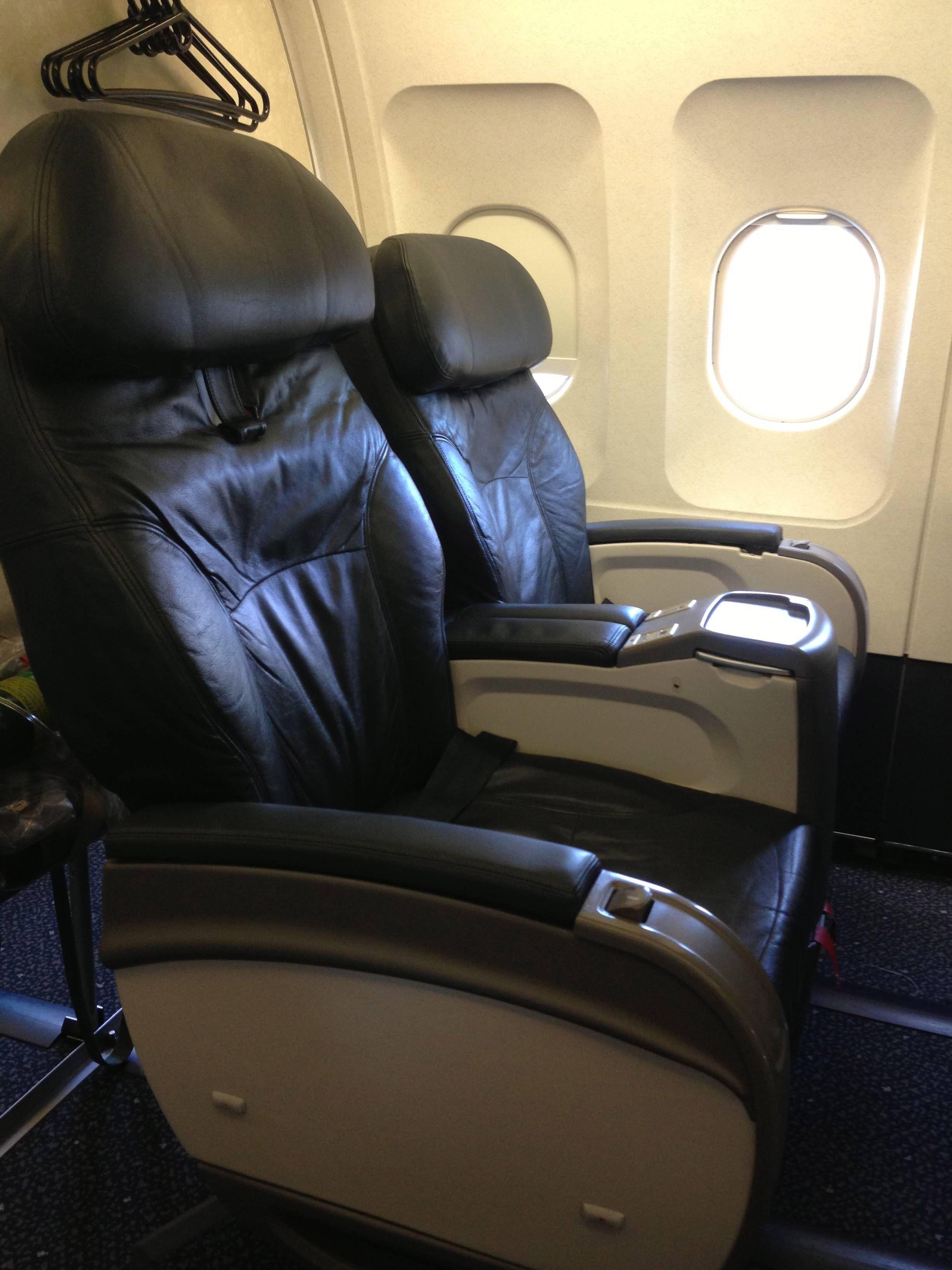 United First Class A320