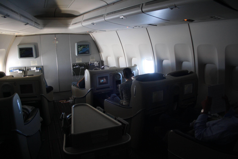 Air France Business Class 747
