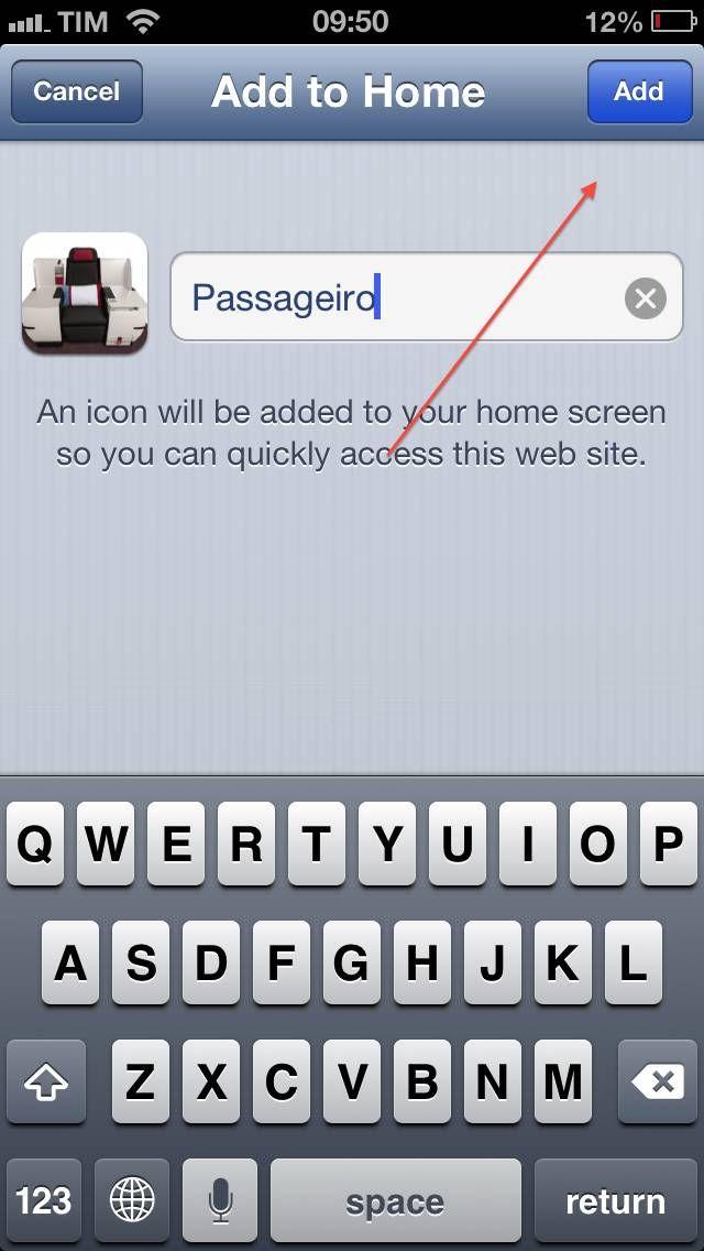 Passageiro de Primeira iPhone 5