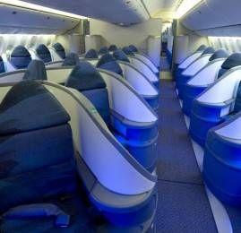 Air Canada apresenta nova classe executiva no Boeing 777-300ER