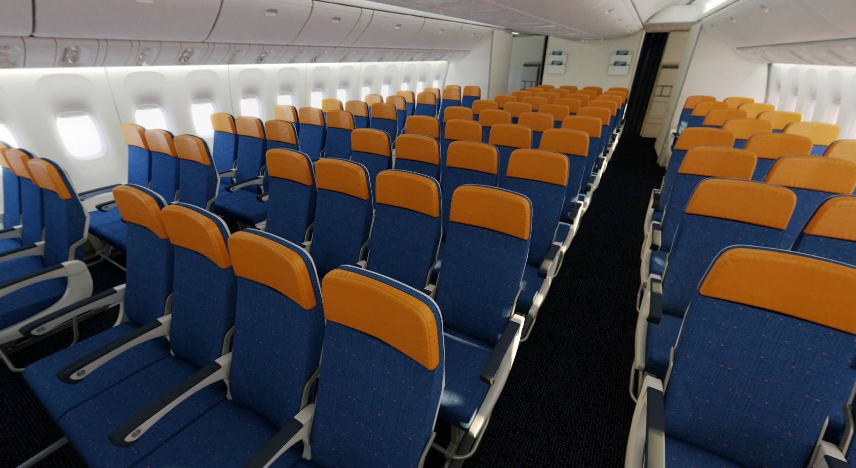 Aeroflot Boeing 777-300ER Economy Class