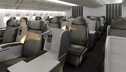 AIR CANADA NEW BUSINESS CLASS
