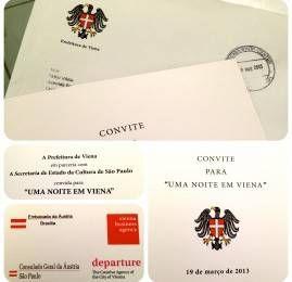 Passageiro de Primeira é convidado pelo governo da Áustria para evento