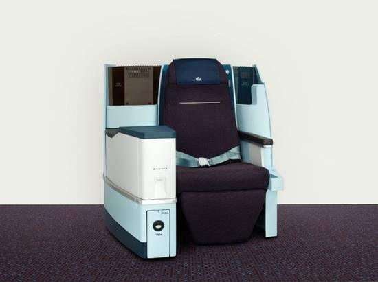 KLM apresenta sua nova classe Executiva a bordo dos 747
