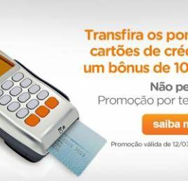Smiles oferece 10% de bonus na transferência de pontos dos cartões de crédito