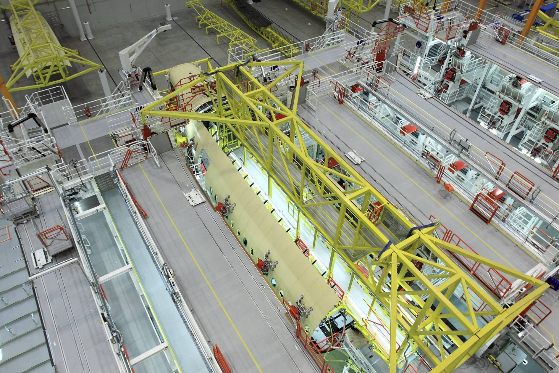 Airbus Factory Hamburg - A350 Assembly Line