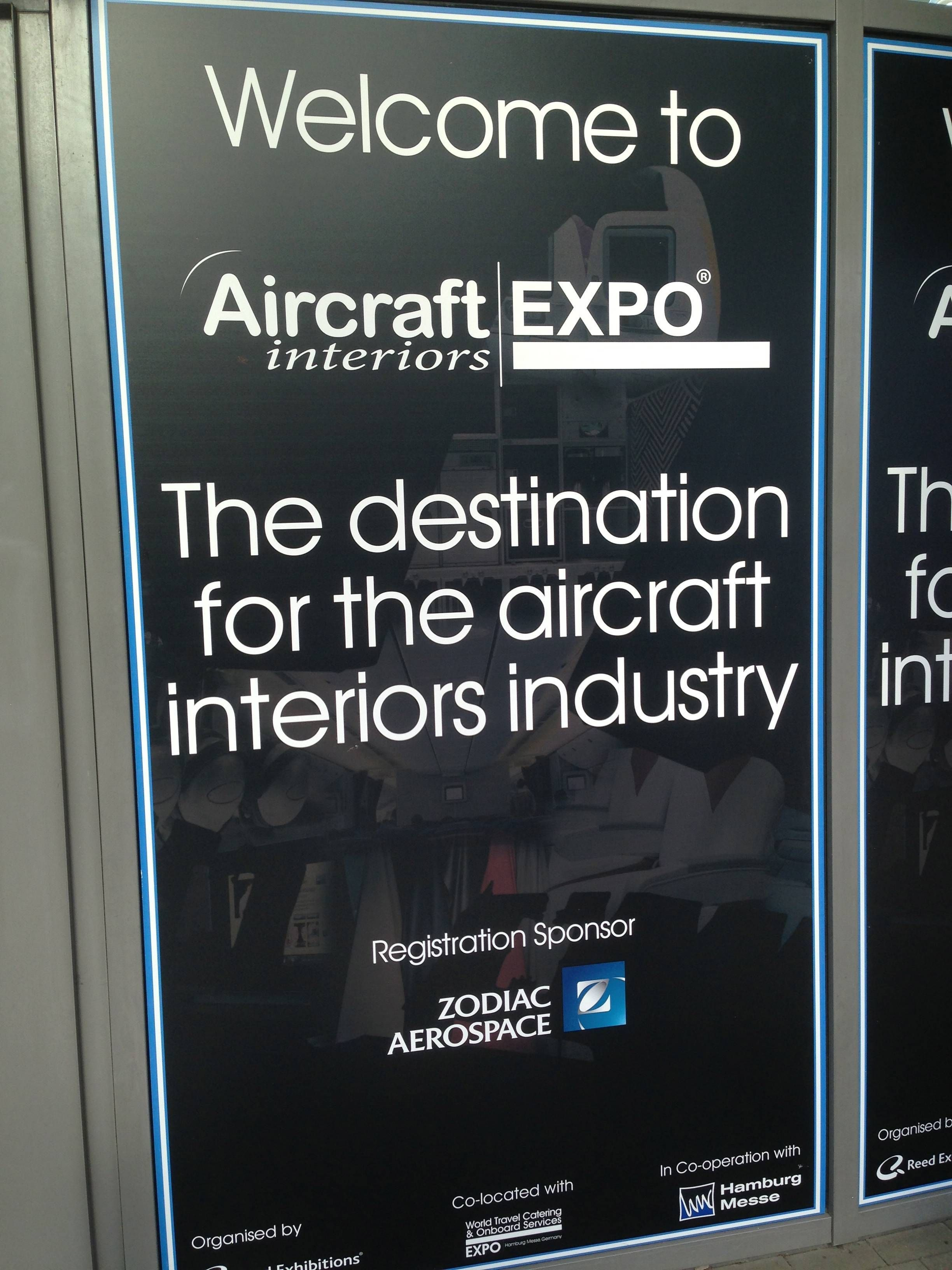 Aircraft Interior Expo 2013