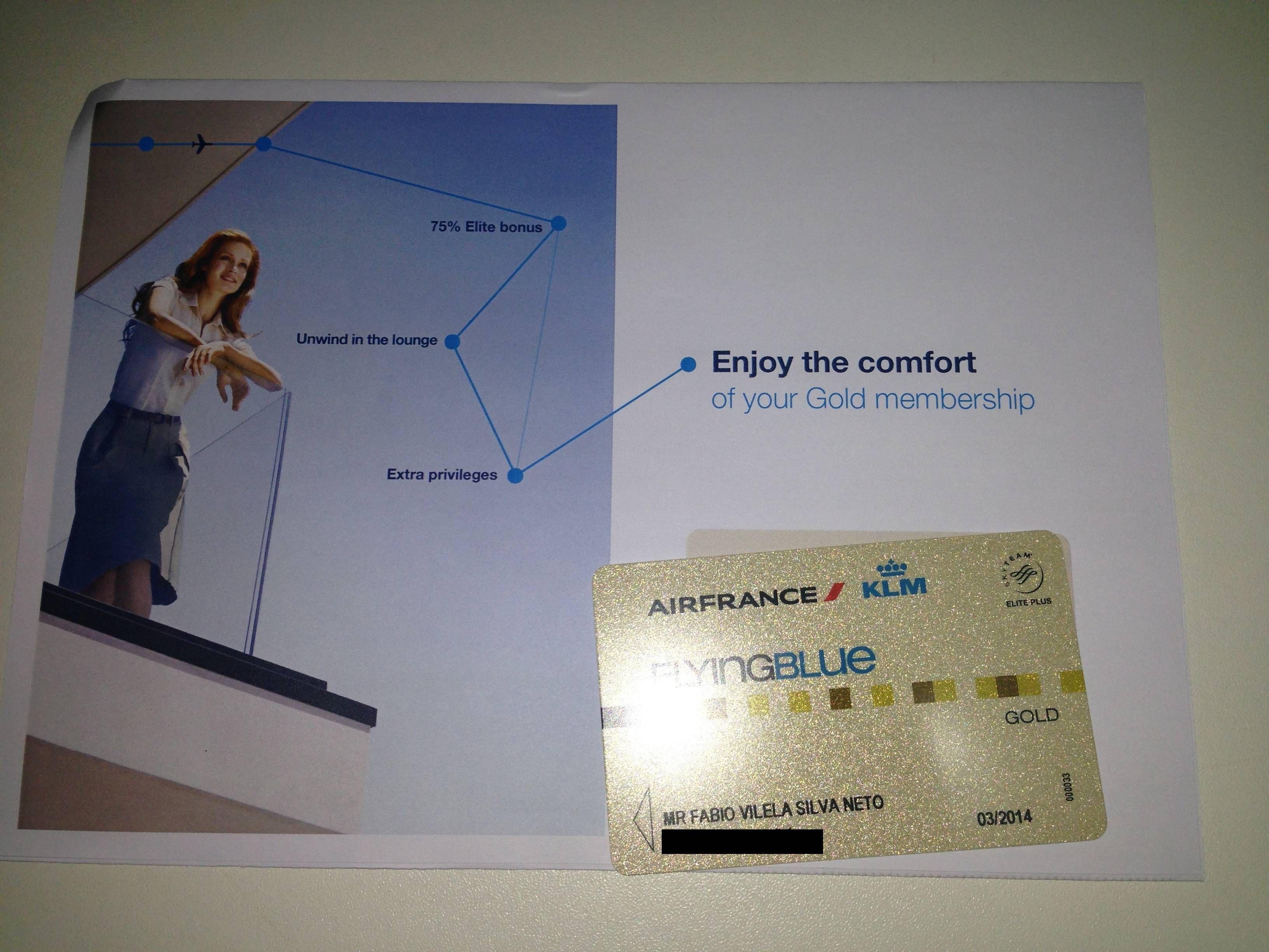 Air France Flying Blue Gold