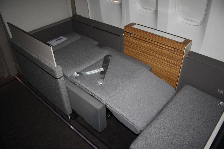 Nova Primeira Classe TAM Boeing 777 - TAM New First Class