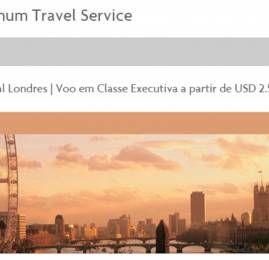 American Express The Platinum Card tem ofertas especiais para quem está indo para Londres