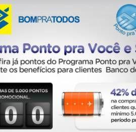 Smiles oferece desconto na compra de milhas para clientes de cartões de crédito do Banco do Brasil