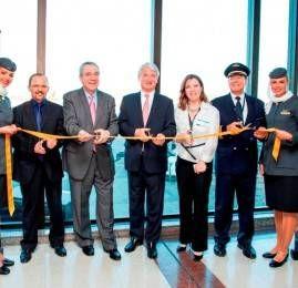 Primeiro vôo da Etihad Airways decola do Brasil