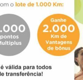 KM de Vantagens e Multiplus oferecem o dobro de pontos de volta nas transferências
