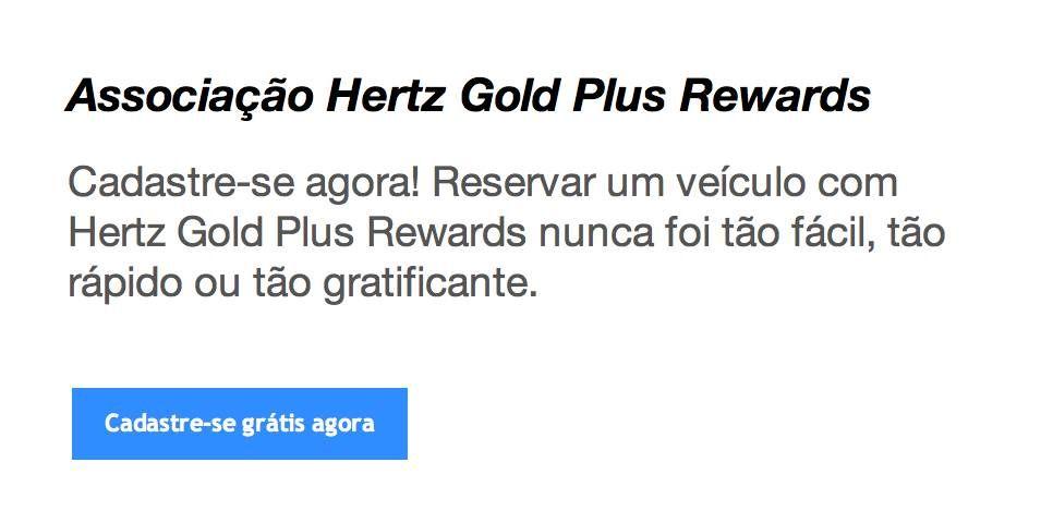 AAdvantage está dando upgrade gratuito para Gold no programa da Hertz #1 Club Gold