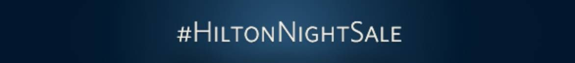 hilton night sale