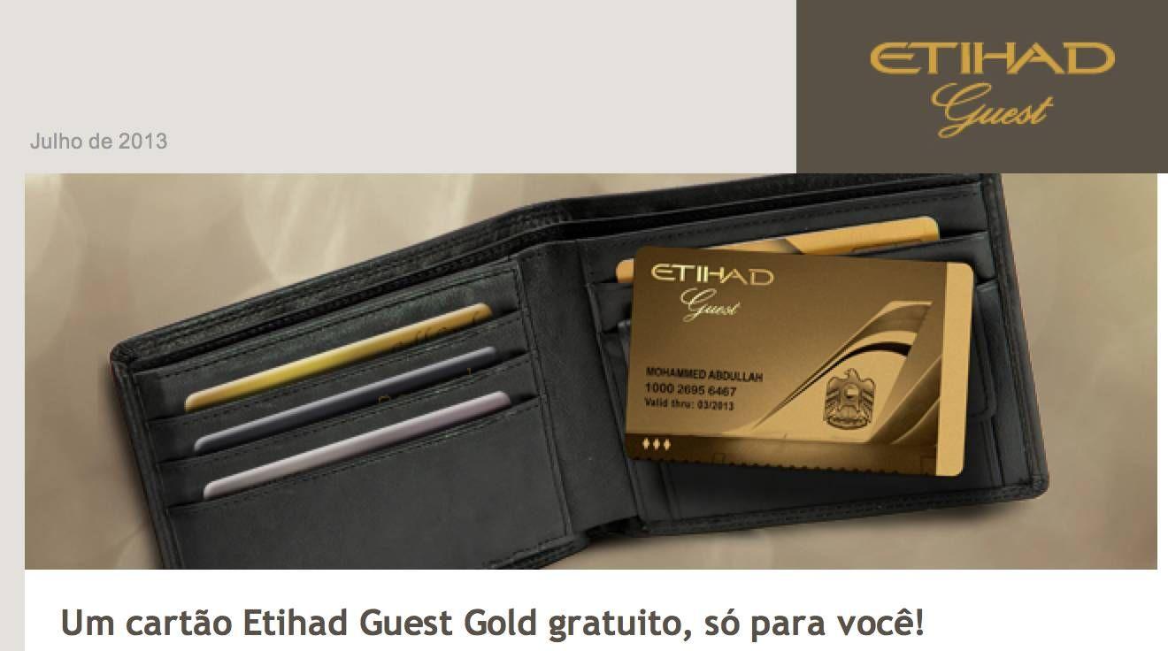 Etihad Airways oferece (novamente) status match para quem for GOLD em outras cias aéreas