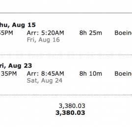 American Airlines equipara preços da Aerolineas e oferece passagens por R$3.380,00 na classe executiva pra Miami