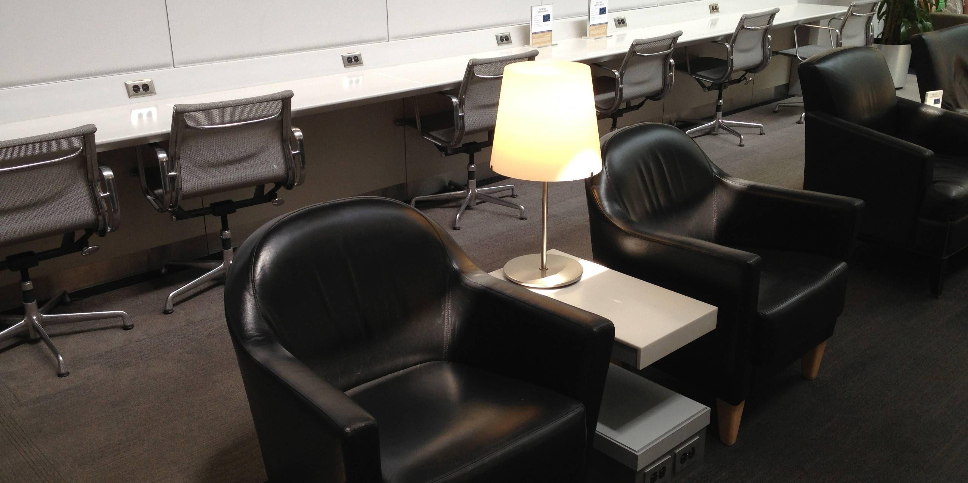 Sala VIP United Club no Aeroporto de Chicago – Terminal 2