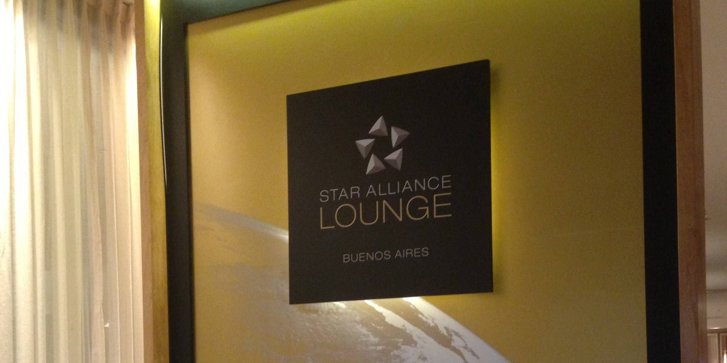 Sala VIP – Star Alliance Lounge Buenos Aires