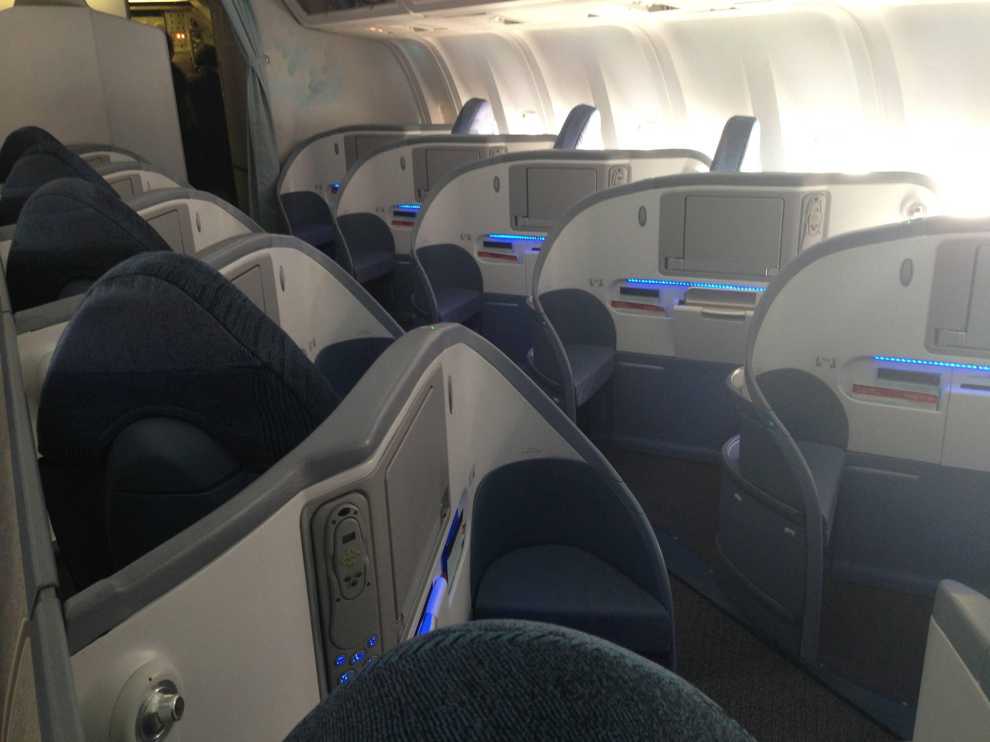 Classe Executiva Air Canada Boeing B767-300