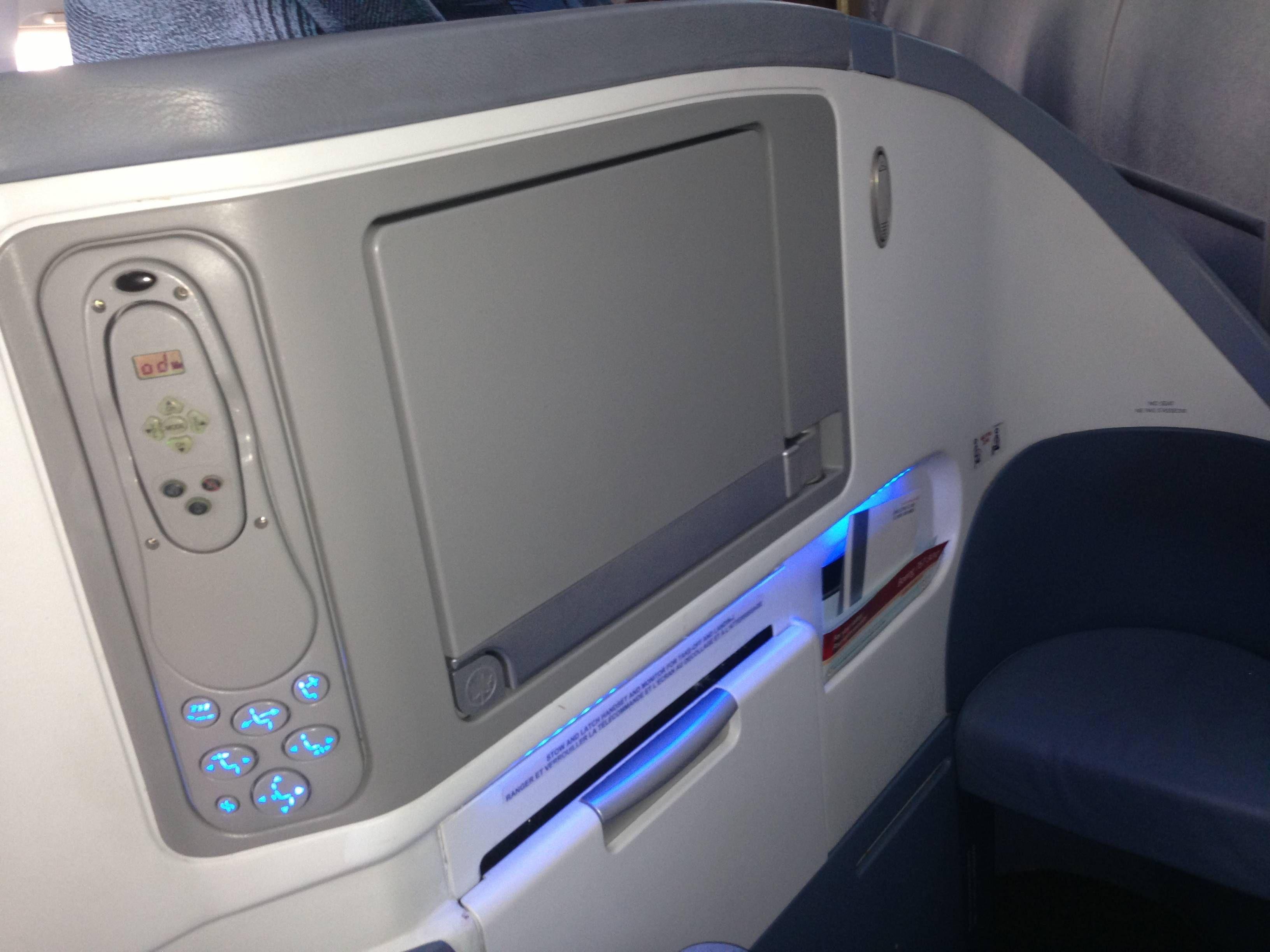 Classe Executiva Air Canada Boeing 767-300
