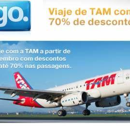 TAM oferece até 70% de desconto para quem comprar com VISA neste final de semana