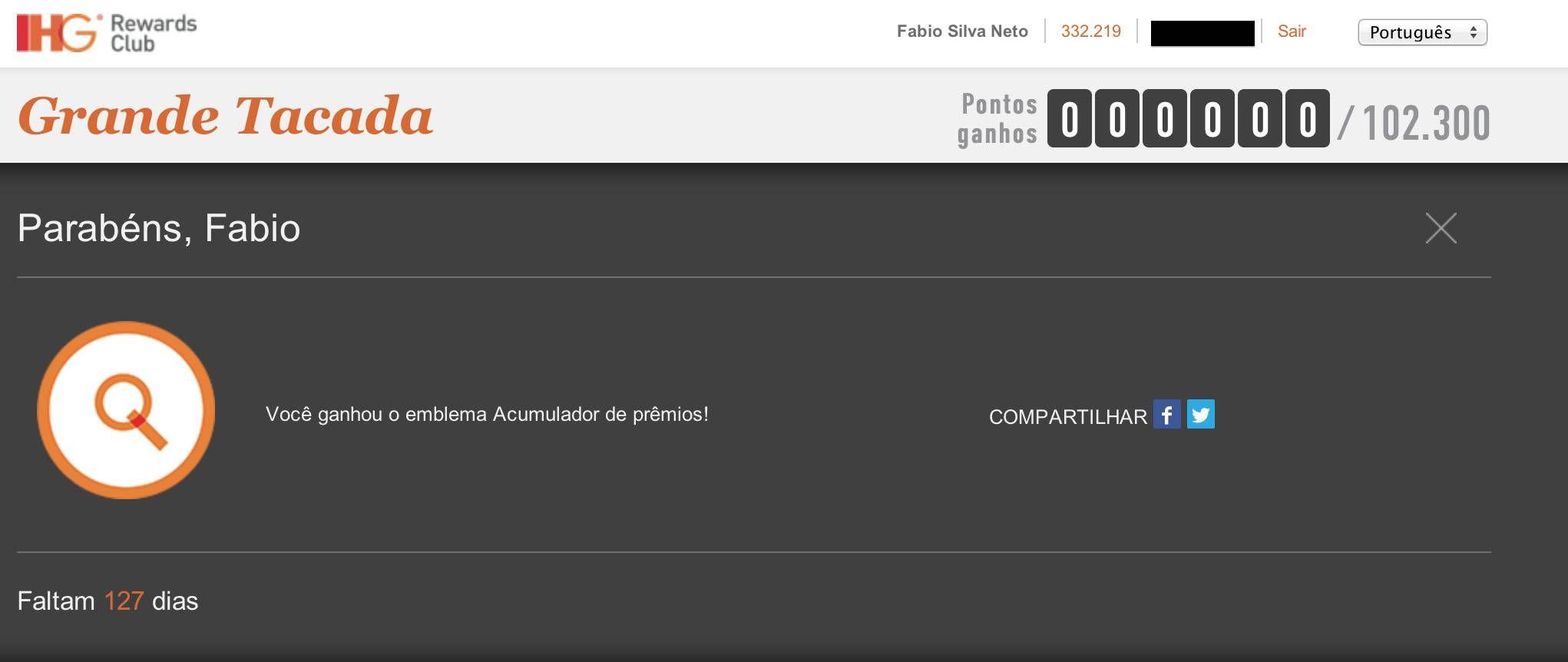 """Promoção """"Grande Tacada"""" do IHG Rewards permite ganhar centenas de milhares de pontos"""