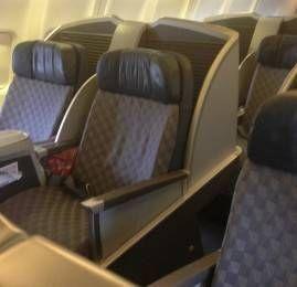 Classe Executiva da American Airlines no Boeing 757-200