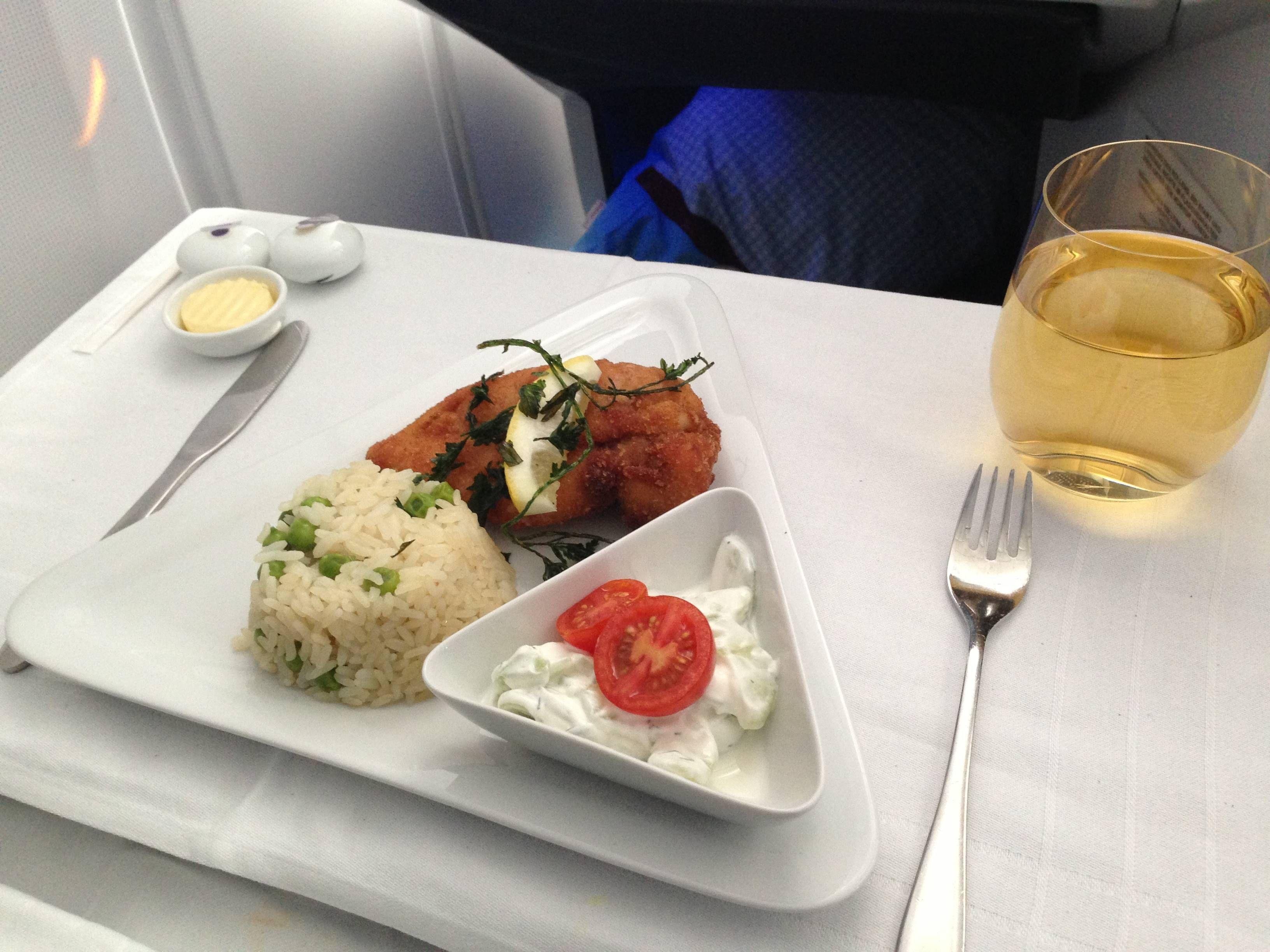Austrian Airlines Business Class