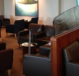 Sala VIP United Club no Aeroporto de Washington