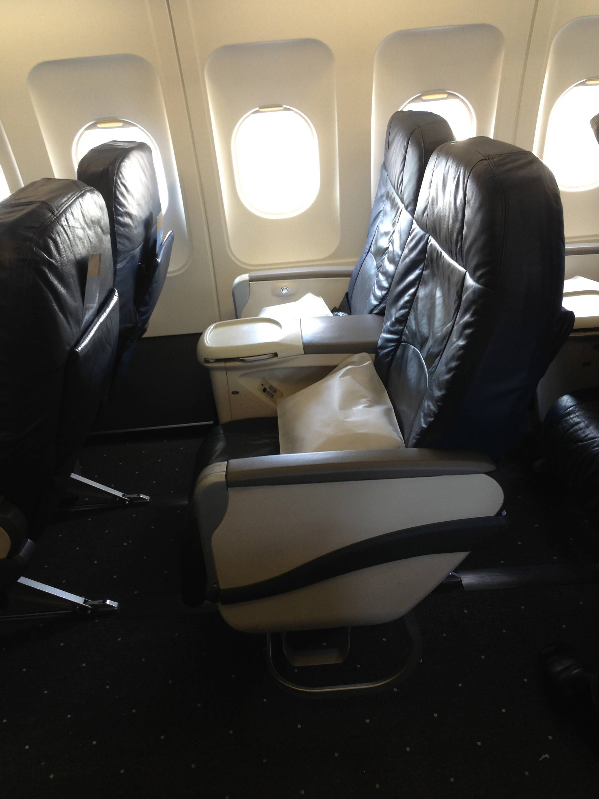 US Airways A321 First Class