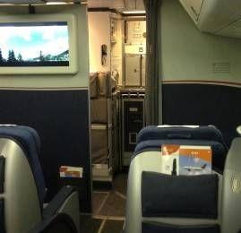 Classe Executiva Envoy da US Airways no B767